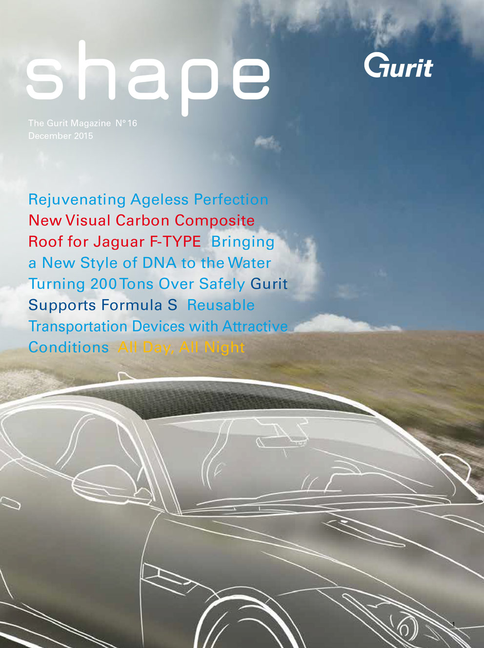 Shape - The Gurit Magazine - issue 16