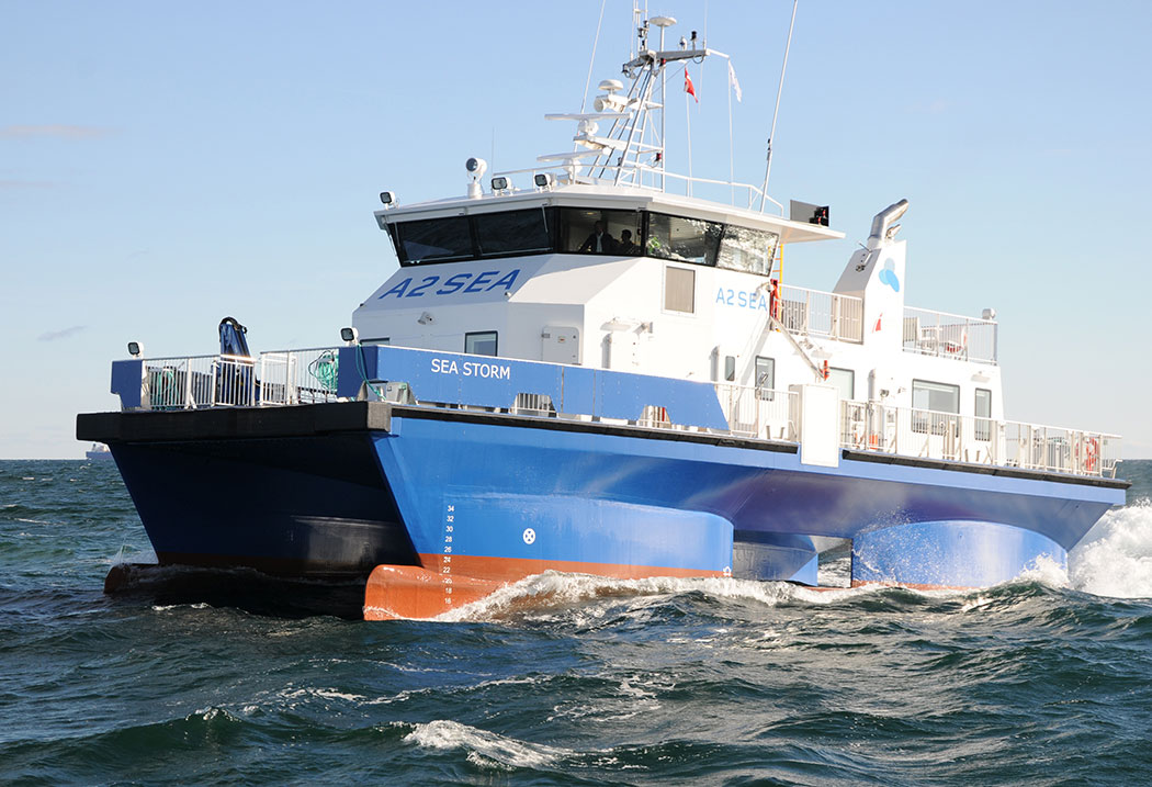 SWATH Crew Transfer Vessel
