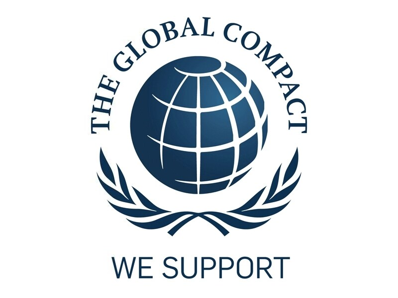 Logo of the UN Global Compact
