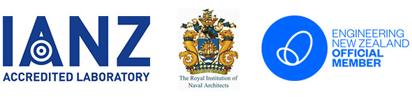 Logos IANZ, The Roylan Insitution of Naval Architects, Engineering New Zealand